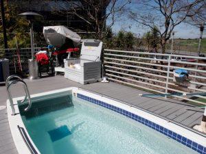 Oficinas de Google piscina