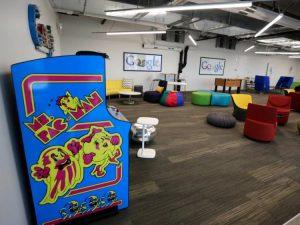 Oficinas de google videojuegos